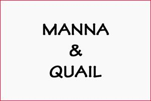 manna and quail